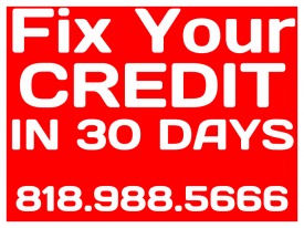 18x24 Fix Your Credit