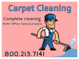 18x24 Carpet Cleaning