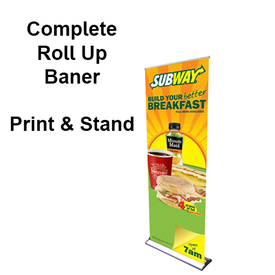 24x92 Roll Up Banner