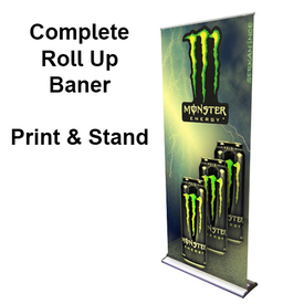 36x92 Roll Up Banner