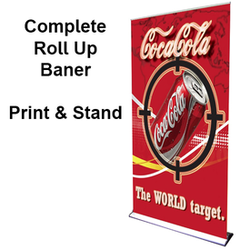 48x92 Roll Up Banner
